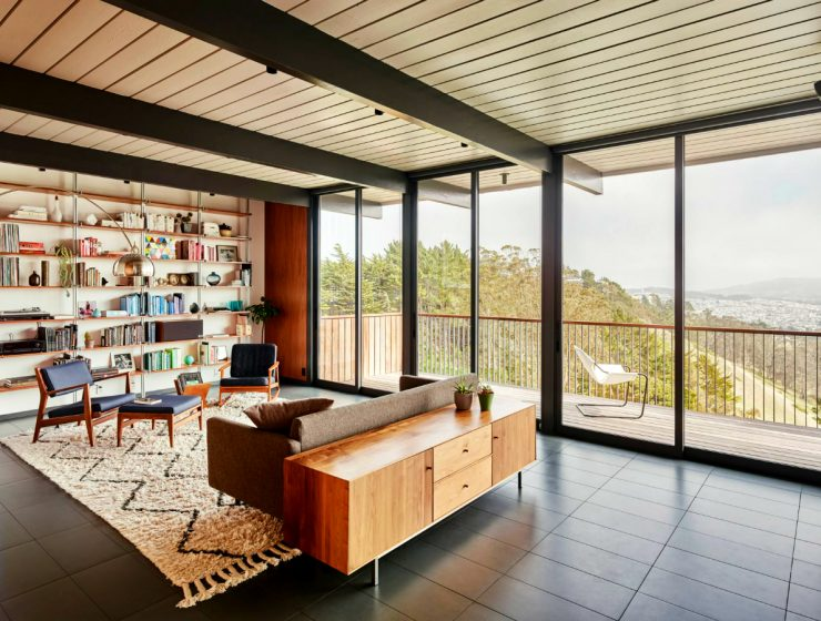 San Francisco Home Gets a Mid-Century Look by Michael Hennessey featured 7 740x560