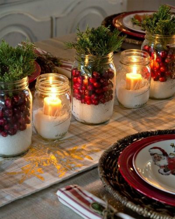Get Your Dining Table Ready For Christmas Season | The countdown for Christmas is here! There are only 20 days left to the magical season and we bring to you the best ideas for you to decor your dining room. #christmas #christmasdecor #homedecor #diningroom #diningtable  Get Your Dining Table Ready For Christmas Season 1bed52e08999047c62d3fdbf9a67d5e9