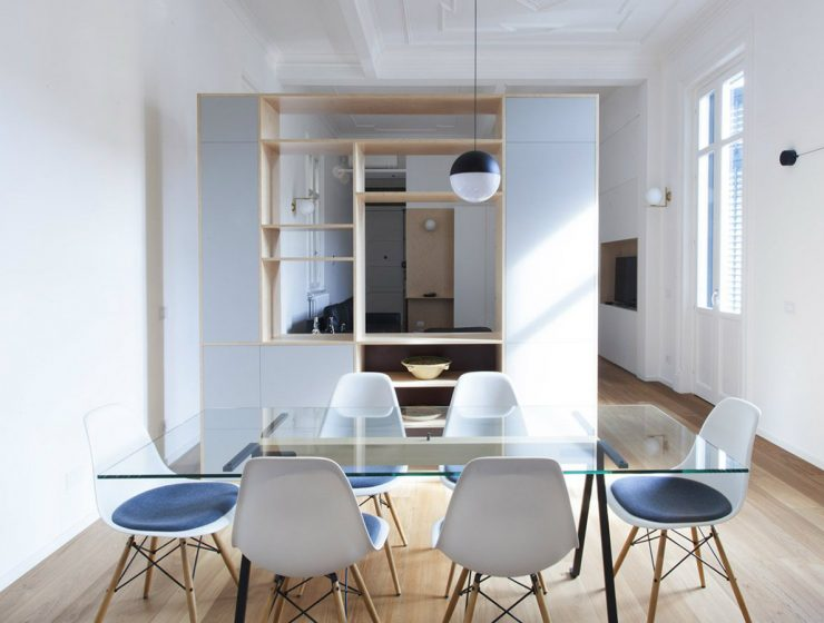 From Sicilian Apartment to an Open-plan Space by Pietro Airoldi  From Sicilian Apartment to an Open-plan Space by Pietro Airoldi From Sicilian Apartment to an Open plan Space by Pietro Airoldi capa 740x560