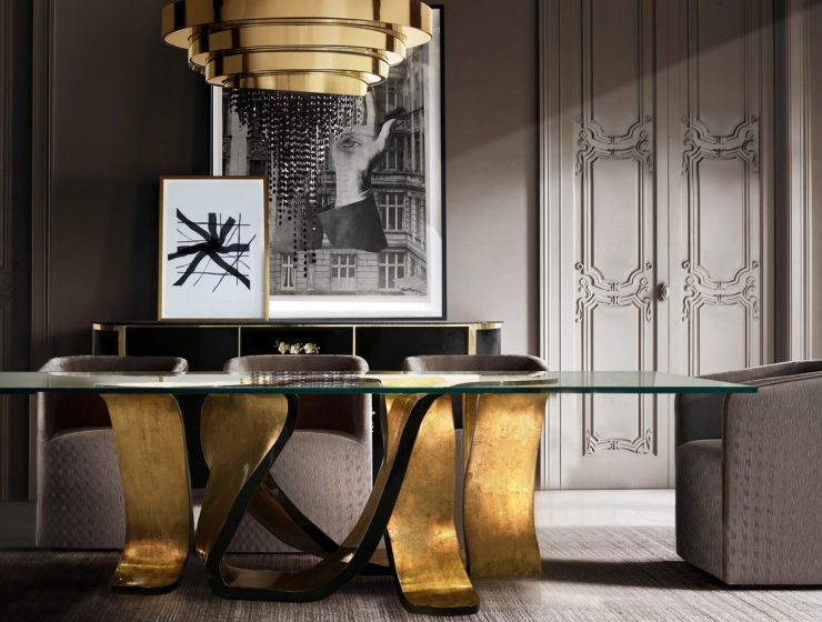 The Ribbon Table: A Rhythm To Any Dining Room  The Ribbon Table: A Rhythm To Any Dining Room ribbon dining table koket projects 740x560