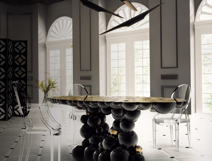 luxurious dining table A Spread Of Inspiration – Luxurious Dining Tables By Boca do Lobo TOPnewton dining table 740x560