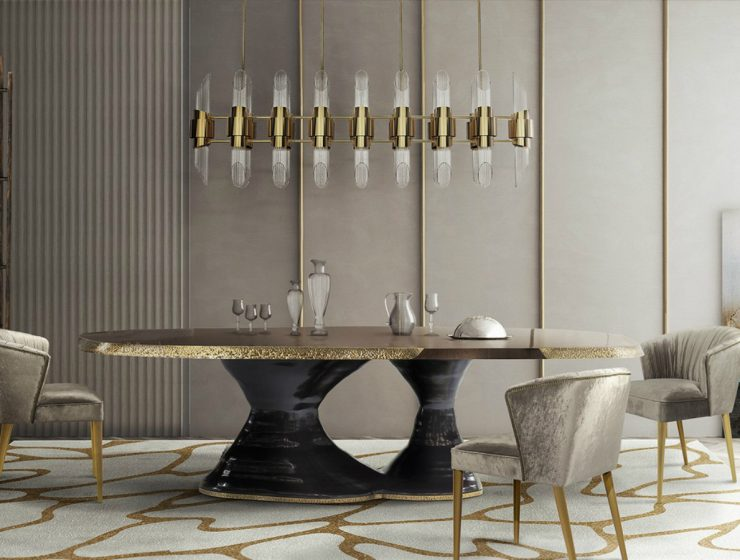 A Luxury Dining Table That Will Enhance Any Dining Room luxury dining table A Luxury Dining Table That Will Enhance Any Dining Room featured 2 740x560