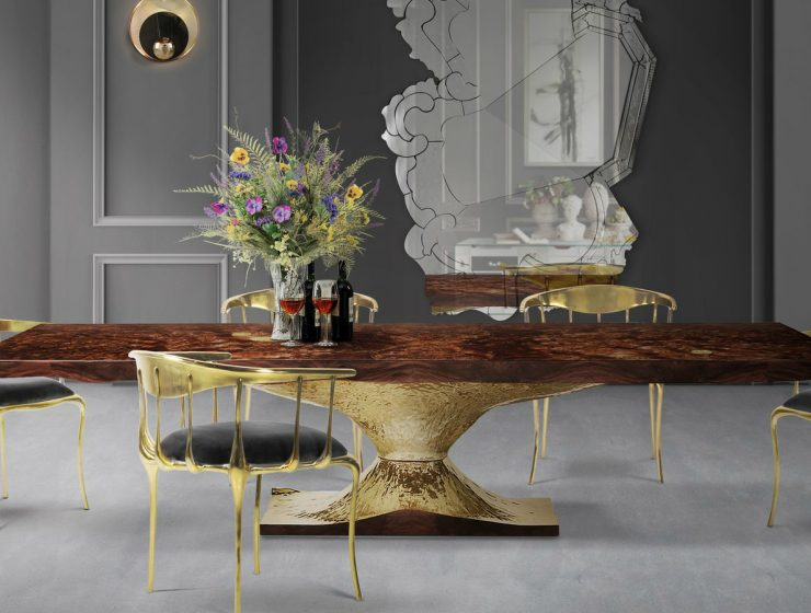 dining tables Top 5 Luxury Dining Tables By Boca Do Lobo featured 5 740x560