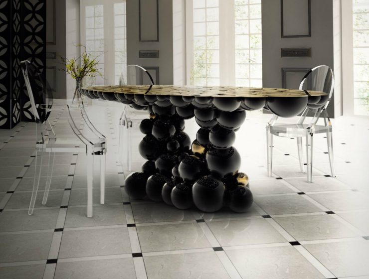 Artistic Dining Table Ideas For An Exquisite Dining Room Decor dining table ideas Artistic Dining Table Ideas For An Exquisite Dining Room Decor featured 6 740x560