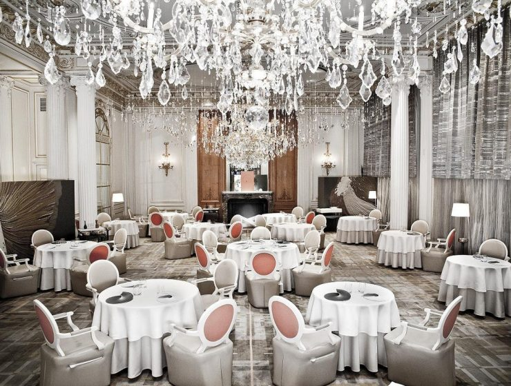 Top Luxury Restaurants In Paris For Maison et Objet luxury restaurants Top Luxury Restaurants In Paris For Maison et Objet athenee 1 740x560
