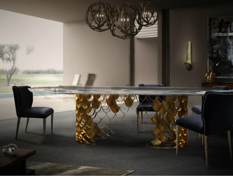 10 Luxury Dining Tables You Shouldn't Miss luxury dining tables 10 Luxury Dining Tables You Shouldn't Miss featured 740x560