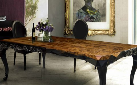 Royal Dining Table: Half Baroque, Half Victorian, Fully Inspiring dining table Royal Dining Table: Half Baroque, Half Minimalistic, Fully Inspiring featured 2 480x300
