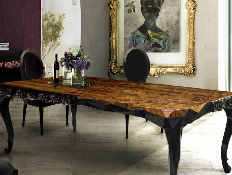Royal Dining Table: Half Baroque, Half Victorian, Fully Inspiring dining table Royal Dining Table: Half Baroque, Half Minimalistic, Fully Inspiring featured 2 740x560