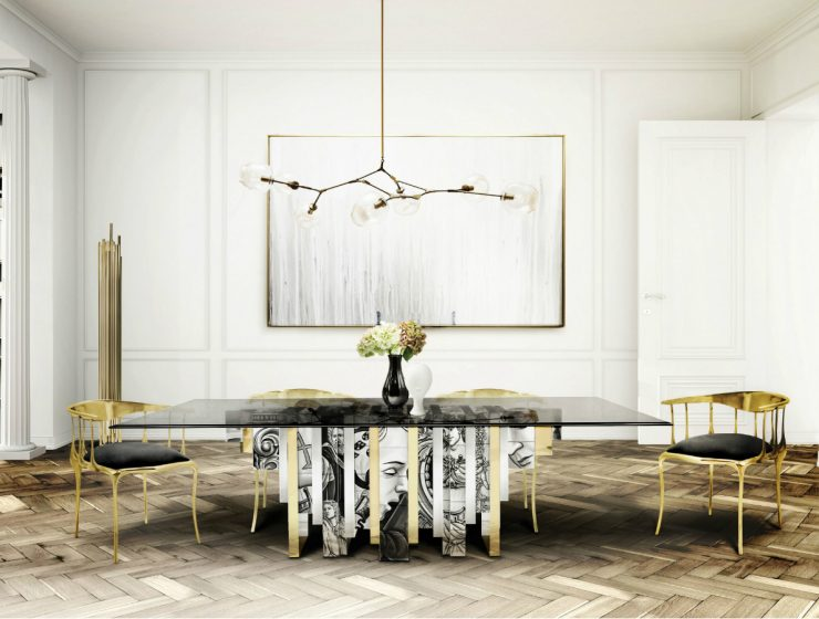 Dining Room Decor Ideas: Modern Classic Dining Tables modern classic dining tables Dining Room Decor Ideas: Modern Classic Dining Tables featured 740x560