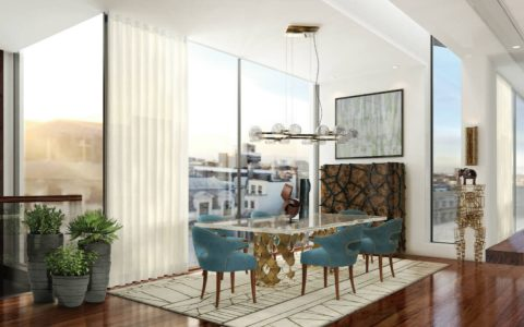 Trendy Dining Tables For 2019 (Part II) trendy dining tables Trendy Dining Tables For 2019 (Part II) featured 14 1 480x300