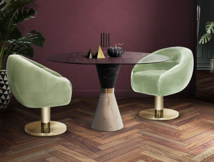 Trendy Dining Chairs For 2019 (Part III) trendy dining chairs Trendy Dining Chairs For 2019 (Part III) featured 72 740x560