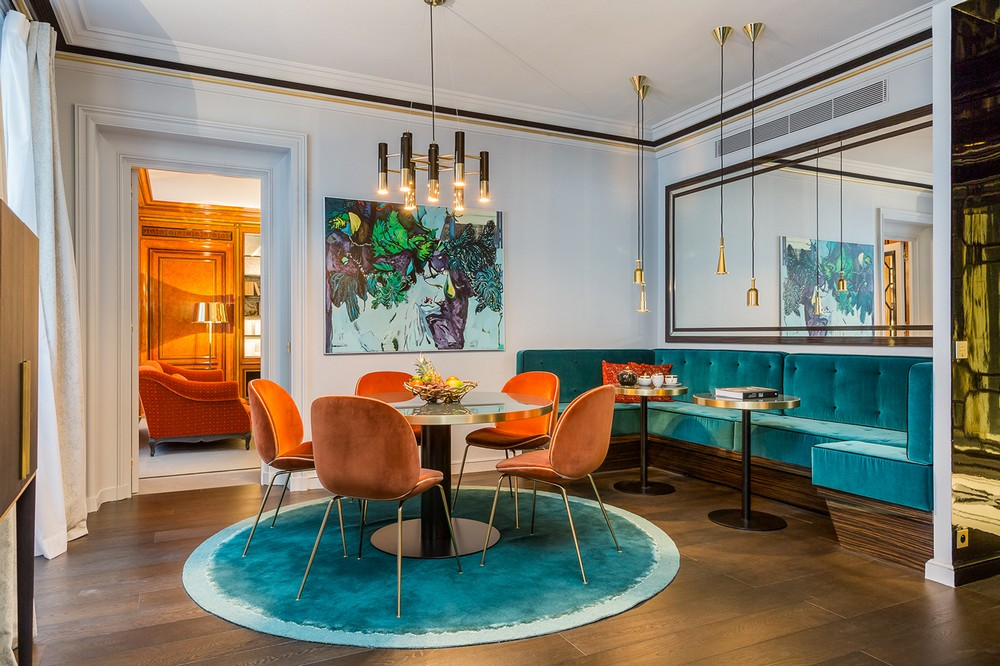 From Paris, With Glamour: Dining Rooms by Gérard Faivre gérard faivre From Paris, With Glamour: Dining Rooms by Gérard Faivre 2 behance