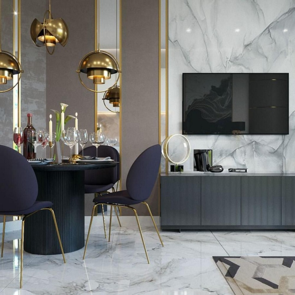 Marvelous Dining Room Designs by Elena Ponomarenko and Vitta Group elena ponomarenko Marvelous Dining Room Designs by Elena Ponomarenko and Vitta Group 5 Pinterest 1