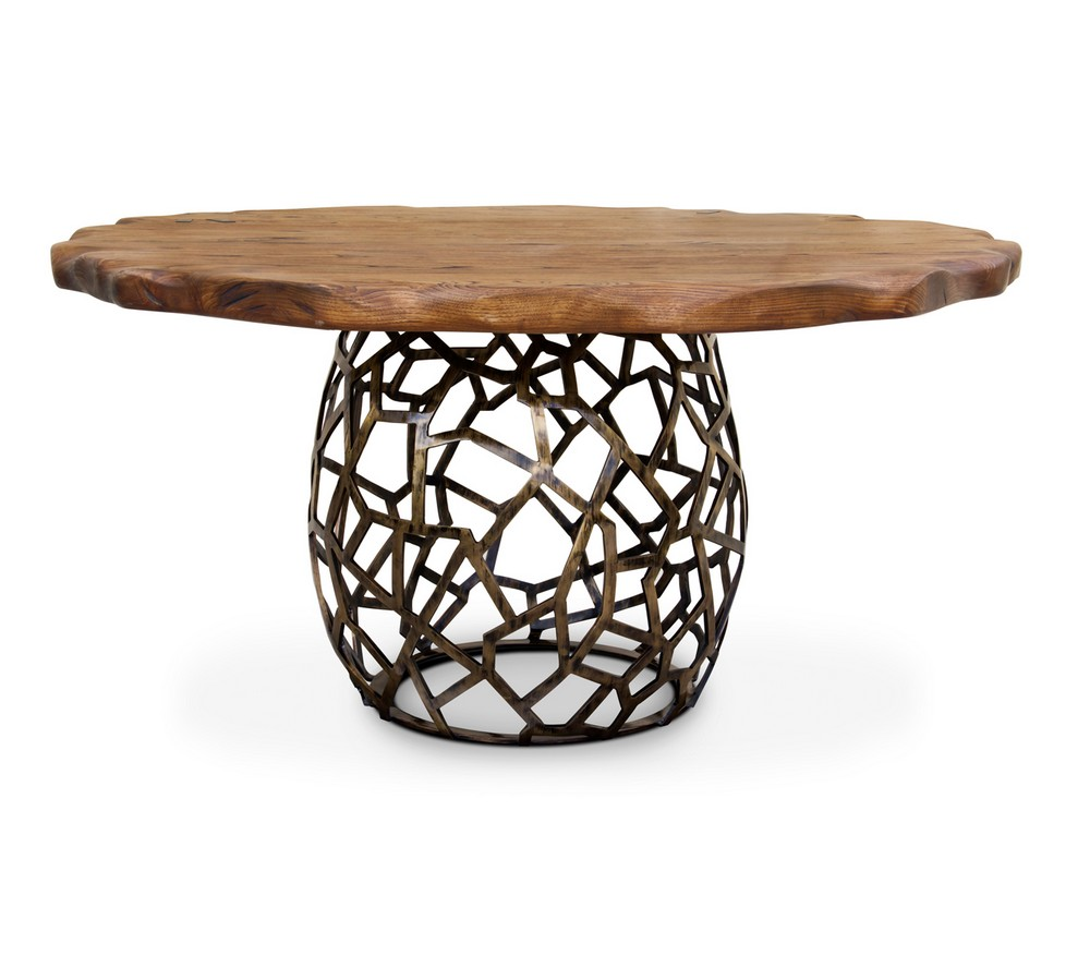 Biophilia Earth Tones: The Dining Tables dining tables Biophilia Earth Tones: The Dining Tables apis 1