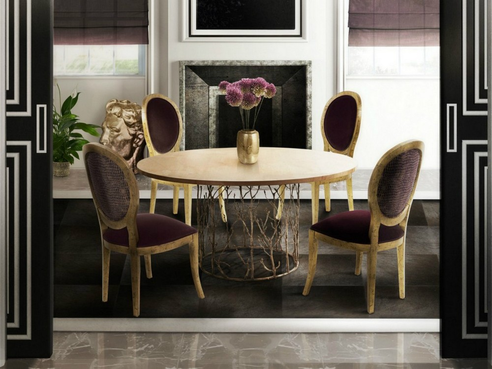 Biophilia Earth Tones: The Dining Tables dining tables Biophilia Earth Tones: The Dining Tables encnhated