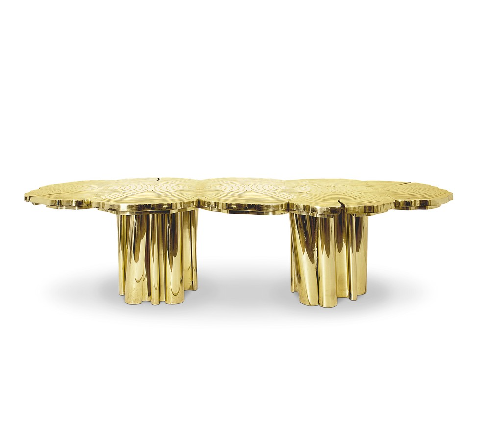 Mellow Color Metallics: The Dining Tables dining tables Mellow Color Metallics: The Dining Tables fortuna 2