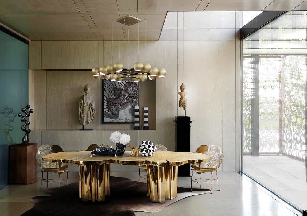 Mellow Color Metallics: The Dining Tables dining tables Mellow Color Metallics: The Dining Tables fortuna2 2