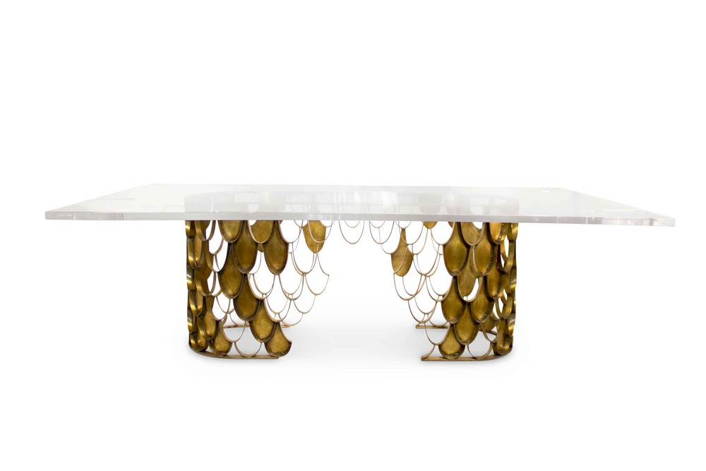 Mellow Color Metallics: The Dining Tables dining tables Mellow Color Metallics: The Dining Tables koi
