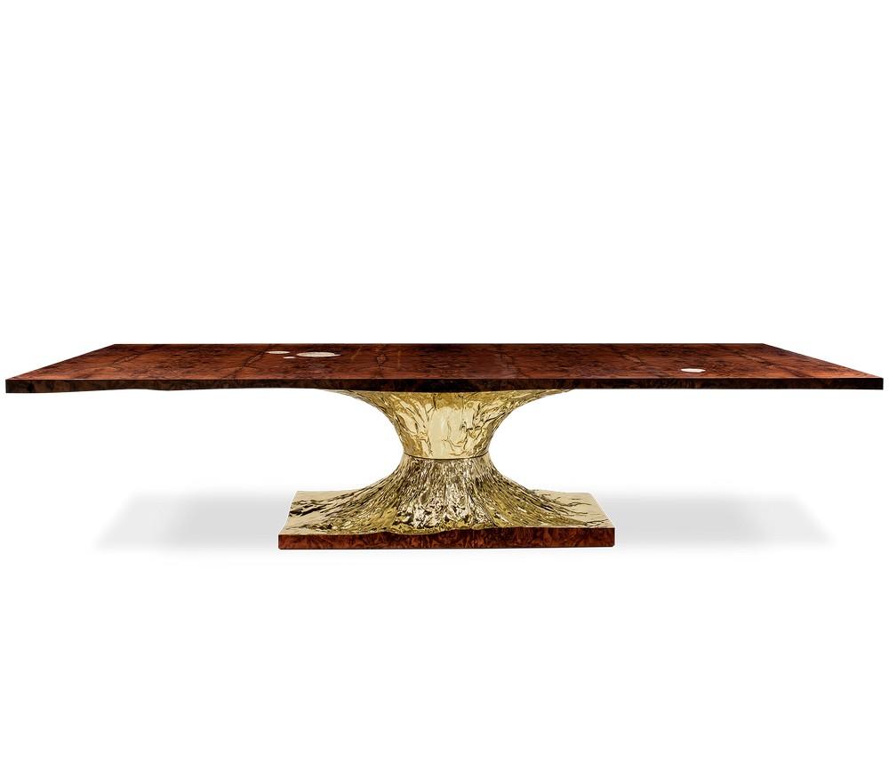 Mellow Color Metallics: The Dining Tables dining tables Mellow Color Metallics: The Dining Tables meta