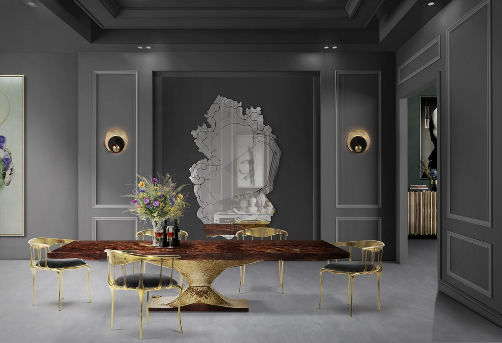 Mellow Color Metallics: The Dining Tables dining tables Mellow Color Metallics: The Dining Tables meta2