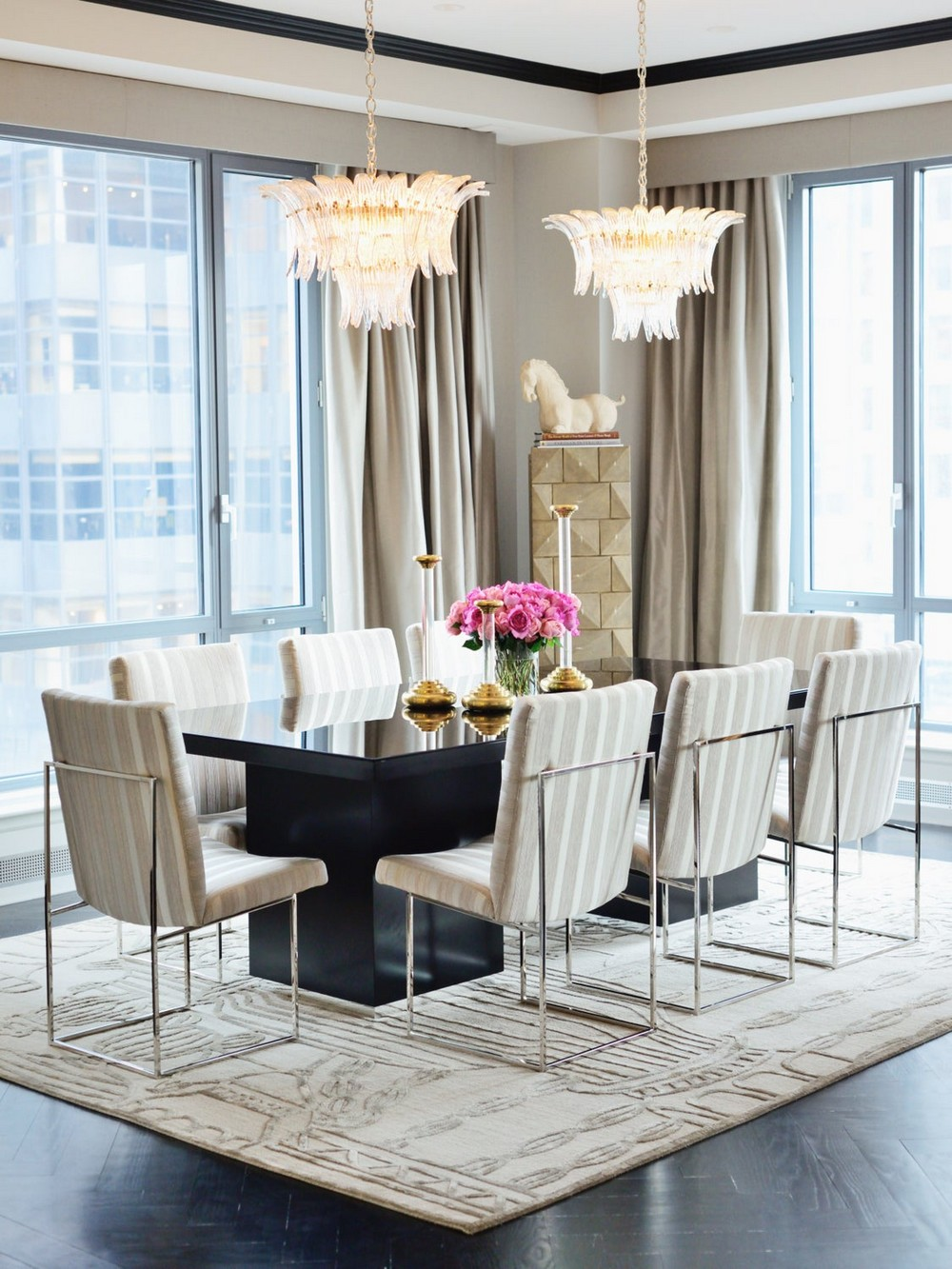 Luxury, Old-world Romance and Urban Cool: Dining Rooms by Ryan Korban ryan korban Luxury, Old-world Romance and Urban Cool: Dining Rooms by Ryan Korban 1 1stDibs