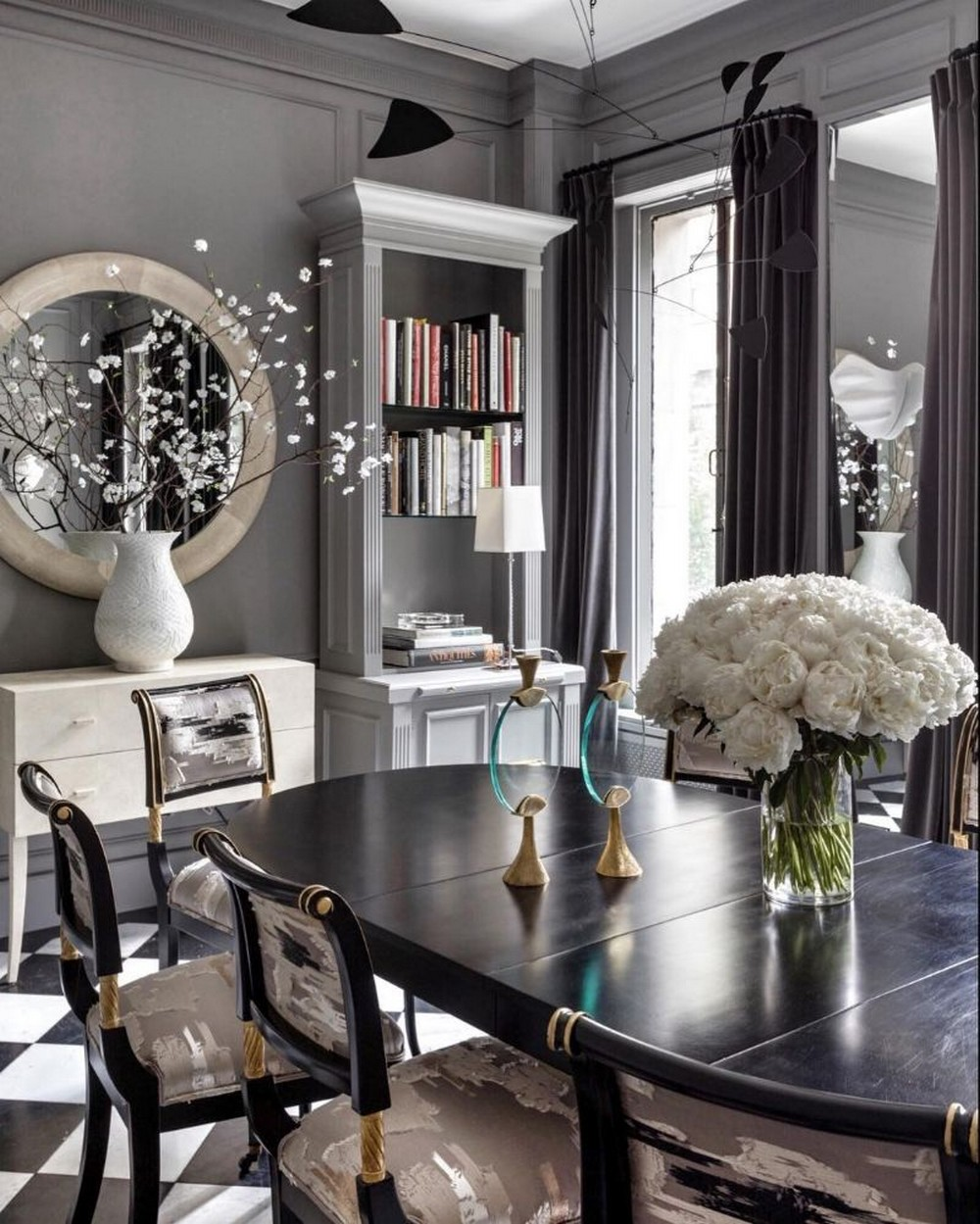 Luxury, Old-world Romance and Urban Cool: Dining Rooms by Ryan Korban