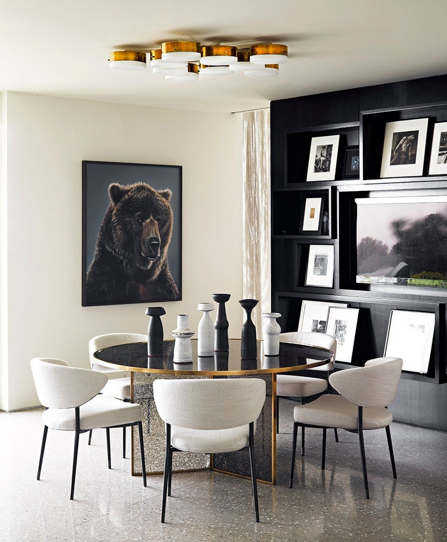 Jamie Bush: Modern Dining Rooms For Luxury Homes jamie bush Jamie Bush: Modern Dining Rooms For Luxury Homes 4 Pinterest