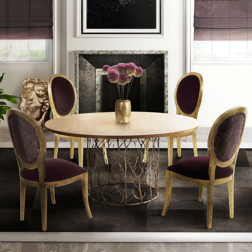 Winter Trends: Modern Dining Tables For Modern Dining Rooms modern dining tables Winter Trends: Modern Dining Tables For Modern Dining Rooms enchated2