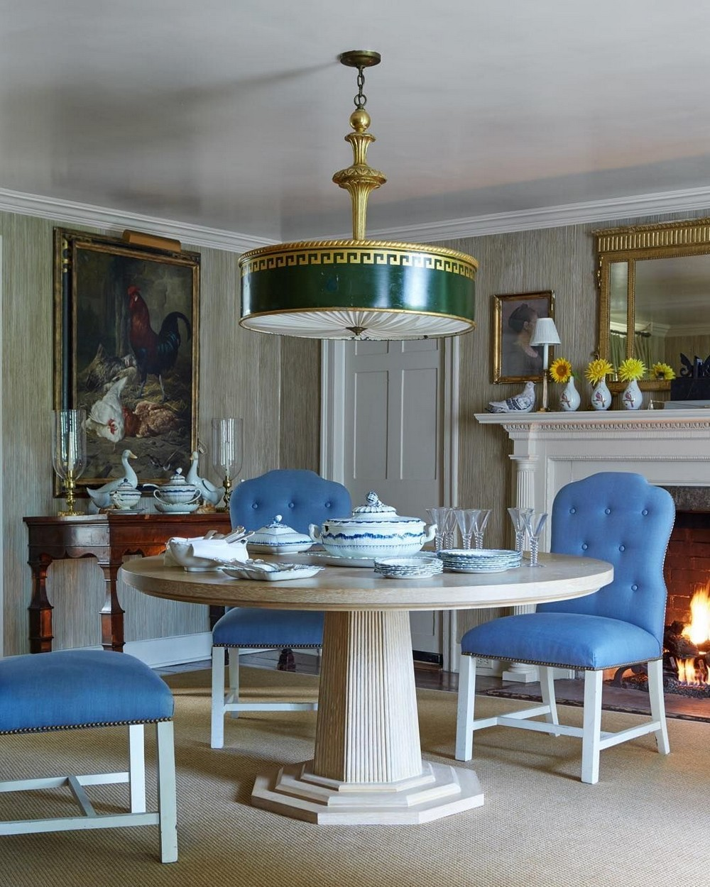 A Legacy of Superior Design: Dining Rooms by Bunny Williams bunny williams A Legacy of Superior Design: Dining Rooms by Bunny Williams 1 Pinterest