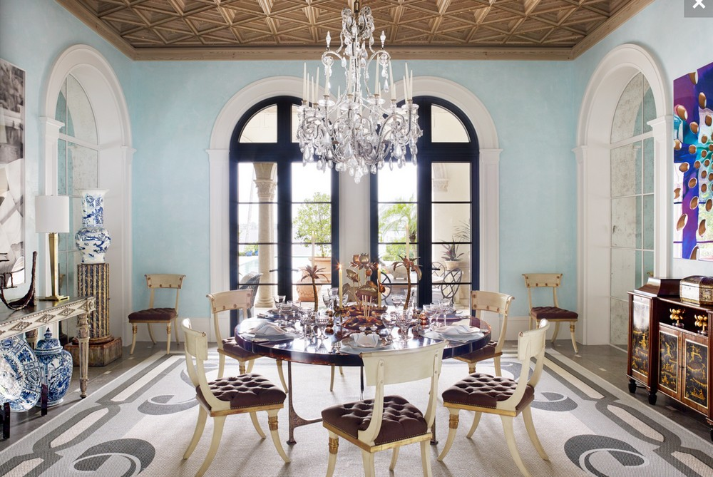 A Legacy of Superior Design: Dining Rooms by Bunny Williams bunny williams A Legacy of Superior Design: Dining Rooms by Bunny Williams 2 Belle Vivir