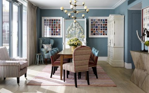 A Mishmash of Playful Patterns: Dining Rooms by Kit Kemp kit kemp A Mishmash of Playful Patterns: Dining Rooms by Kit Kemp featured 2019 12 05T114741