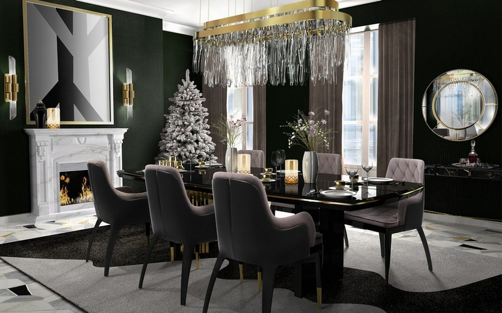 Luxury Design: Awesome Dining Room Ideas For Christmas dining room ideas Luxury Design: Awesome Dining Room Ideas For Christmas lx2