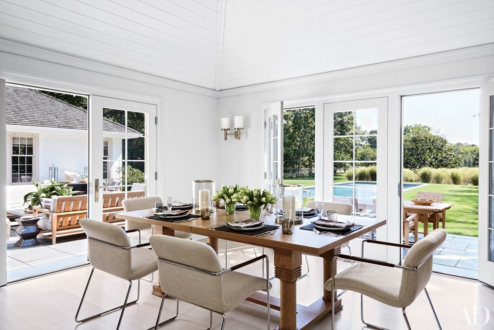 When Modern Means Timeless: Dining Rooms by David Kleinberg david kleinberg When Modern Means Timeless: Dining Rooms by David Kleinberg 2 ad