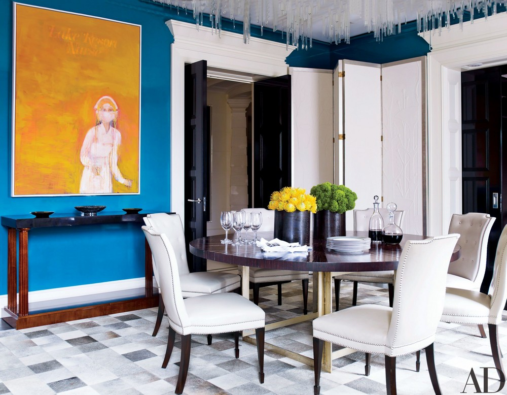 When Modern Means Timeless: Dining Rooms by David Kleinberg david kleinberg When Modern Means Timeless: Dining Rooms by David Kleinberg 3 ad 1