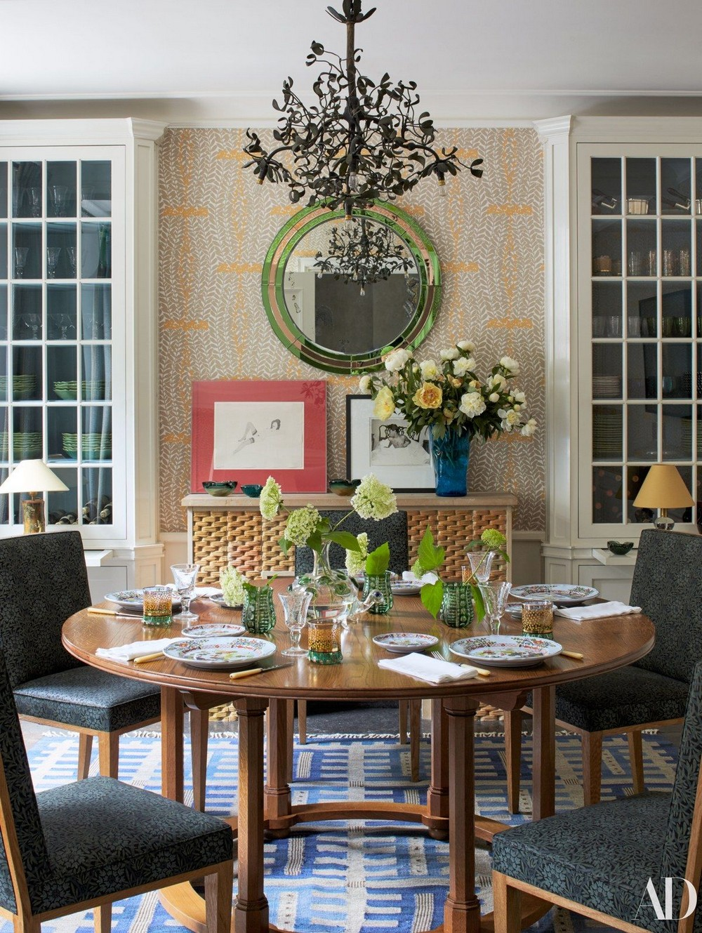 Traditional Meets Contemporary: Dining Rooms by Jacques Grange jacques grange Traditional Meets Contemporary: Dining Rooms by Jacques Grange 3 ad