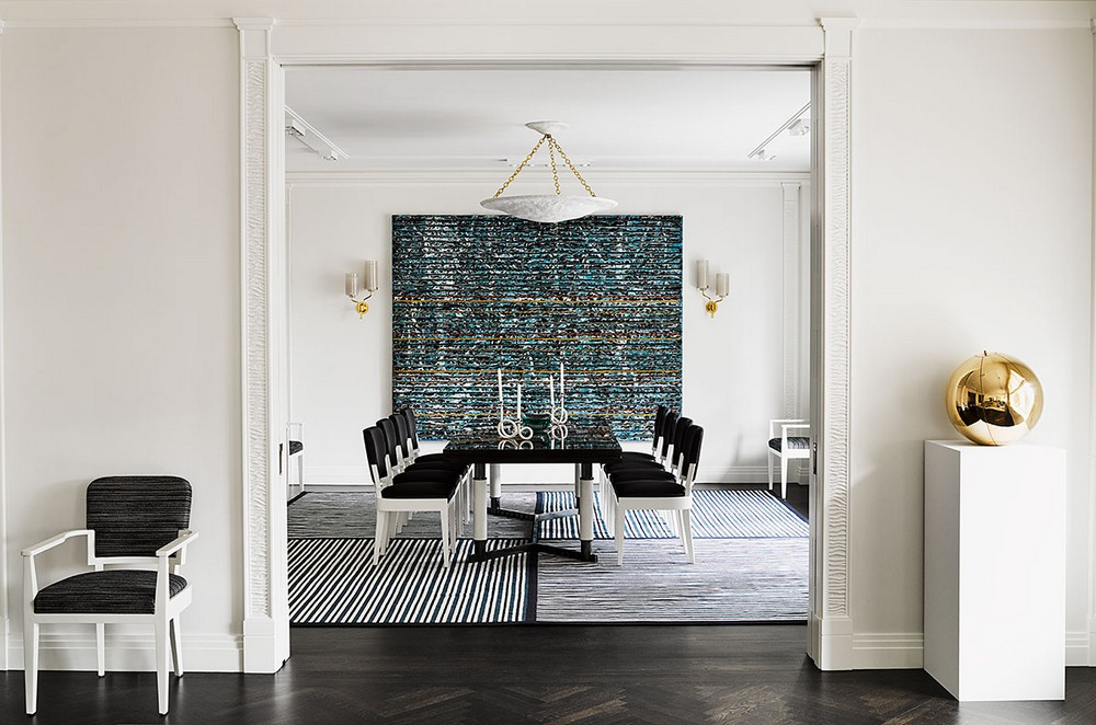 When Modern Means Timeless: Dining Rooms by David Kleinberg david kleinberg When Modern Means Timeless: Dining Rooms by David Kleinberg 5 dkda