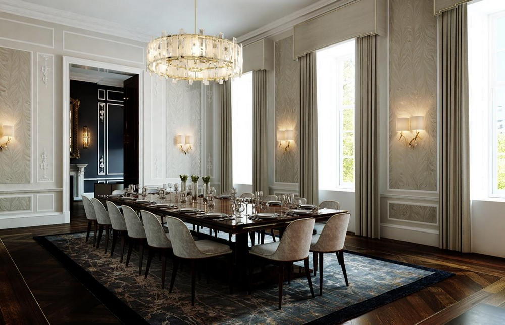 A Touch of Classic: Dining Rooms by Martin Kemp Design martin kemp design A Touch of Classic: Dining Rooms by Martin Kemp Design c7ddb201d1f8ed4940d859ee37e713cf