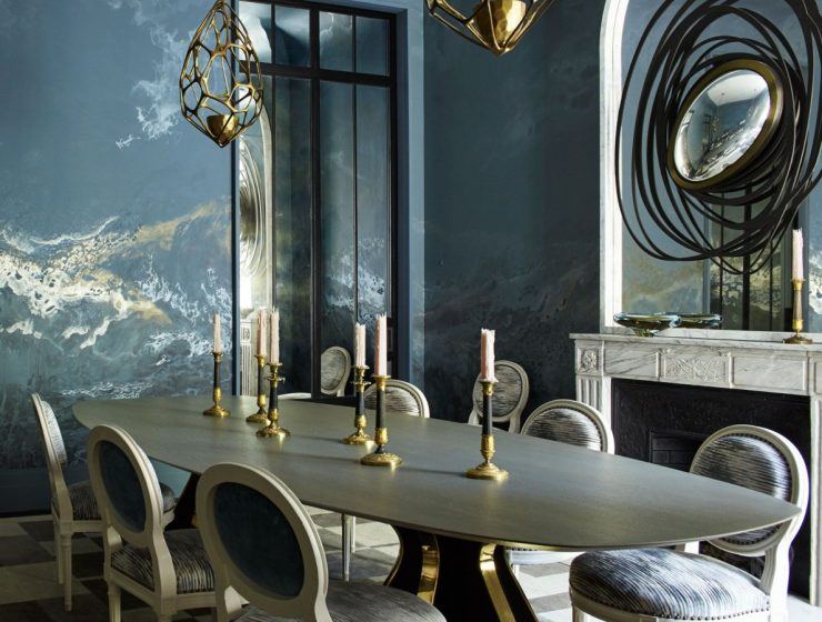 luxury dining room ideas Luxury Dining Room Ideas by Top French Interior Designers featured 740x560