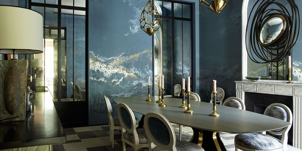 Luxury Dining Room Ideas by Top French Interior Designers luxury dining room ideas Luxury Dining Room Ideas by Top French Interior Designers jean Town Country Magazine
