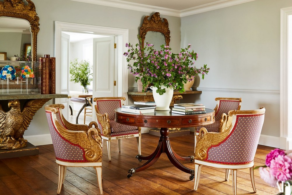 David Hicks: A Sophisticated Decorative Layering For Every Dining Room david hicks David Hicks: A Sophisticated Decorative Layering For Every Dining Room 2 ad