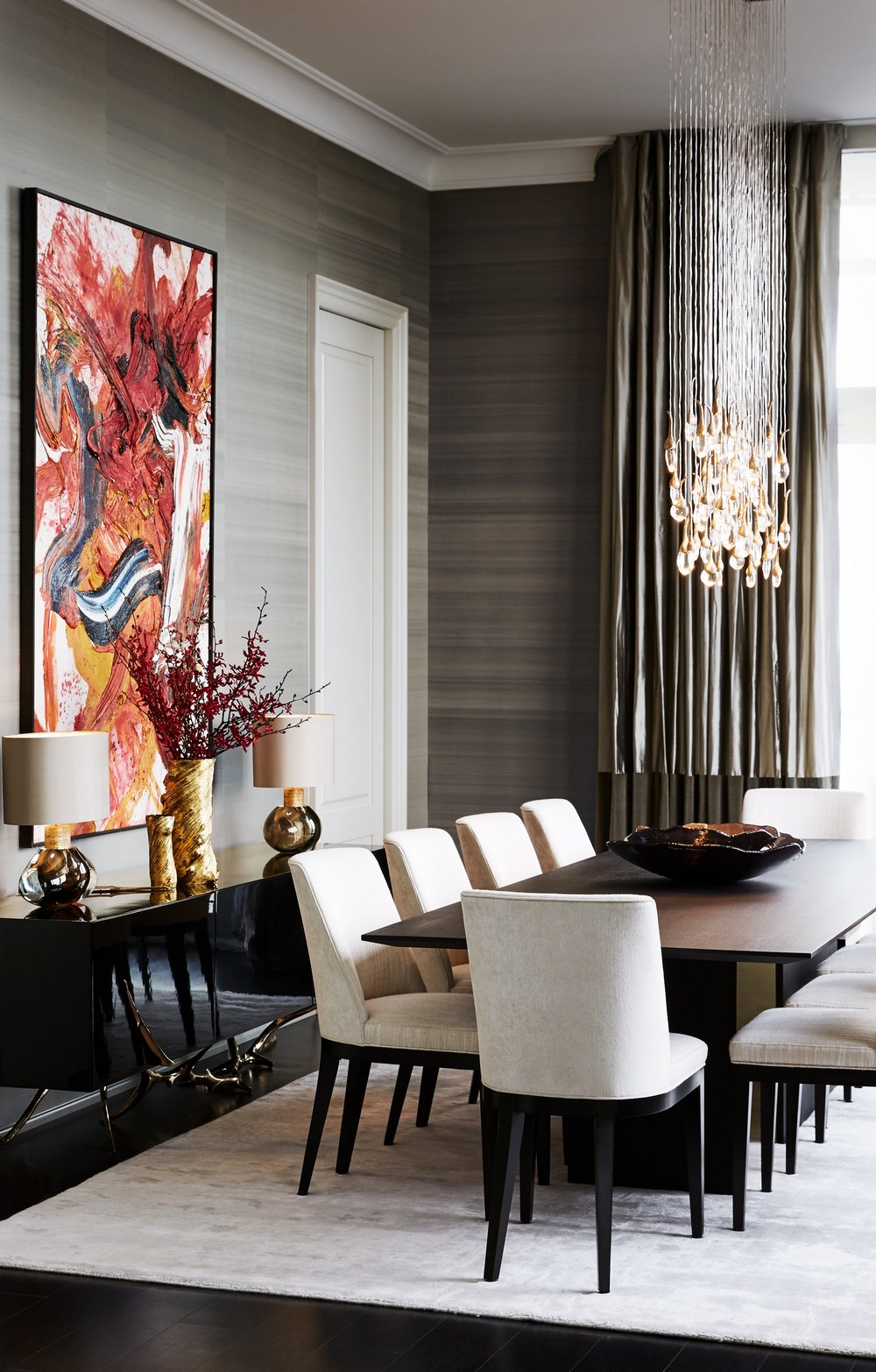 An Unparalleled Devotion to Detail: Dining Rooms by Julie Charbonneau julie charbonneau An Unparalleled Devotion to Detail: Dining Rooms by Julie Charbonneau 5 1stdibs