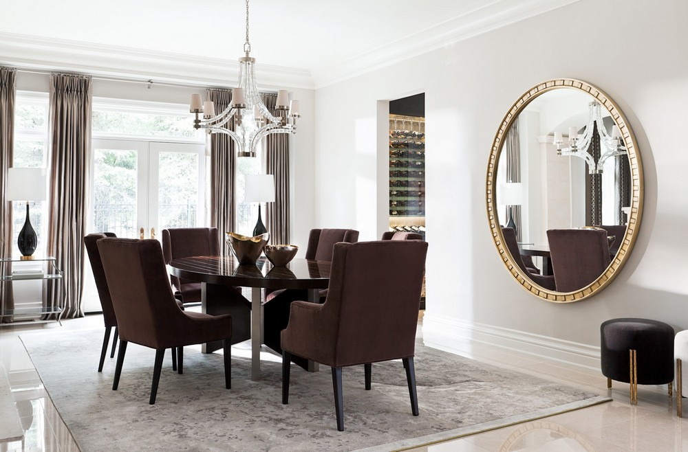 A Classic Style For Modern Luxury: Dining Rooms by Elizabeth Metcalfe elizabeth metcalfe A Classic Style For Modern Luxury: Dining Rooms by Elizabeth Metcalfe 5 dering hall