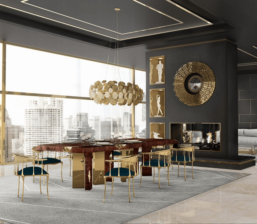 Modern Classic Dining Tables For a Timeless Dining Room modern classic dining tables Modern Classic Dining Tables For a Timeless Dining Room empire 1