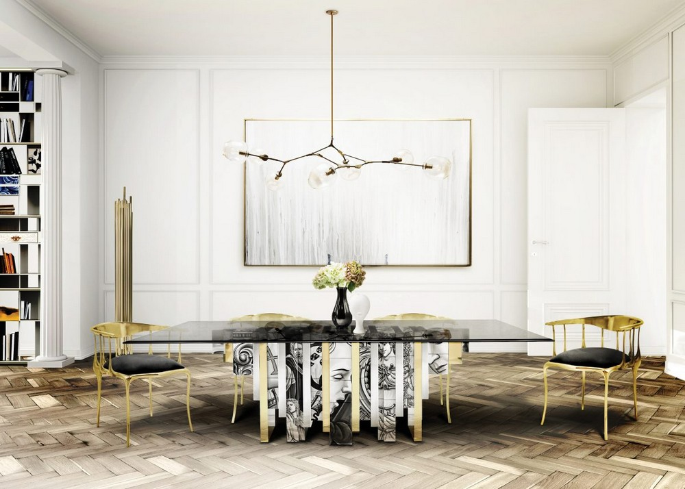 Modern Classic Dining Tables For a Timeless Dining Room modern classic dining tables Modern Classic Dining Tables For a Timeless Dining Room heritage