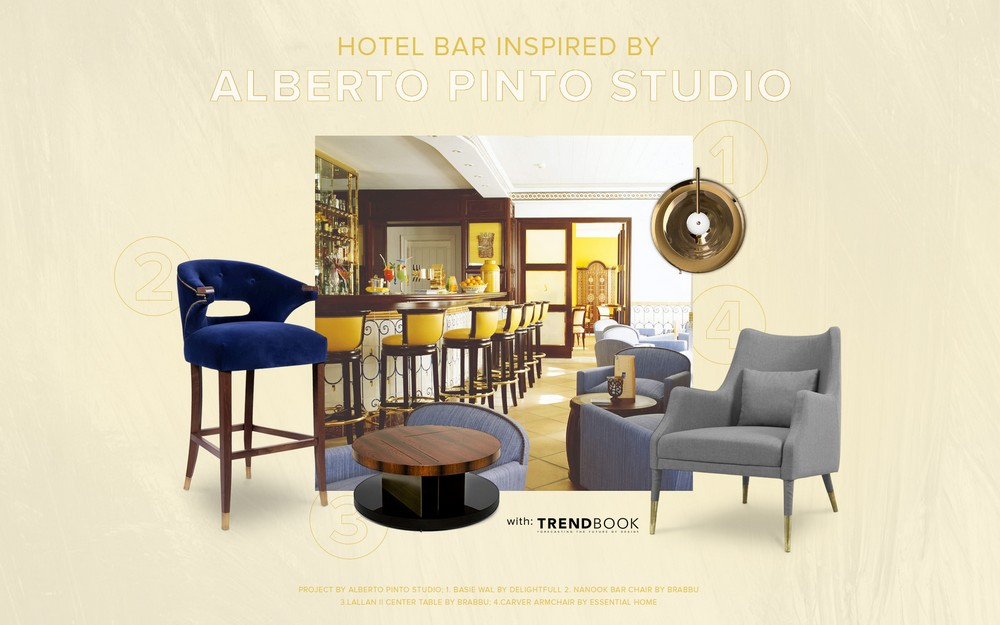 Hotel Bar Inspired by Alberto Pinto Studio alberto pinto studio Hotel Bar Inspired by Alberto Pinto Studio Alberto Pinto