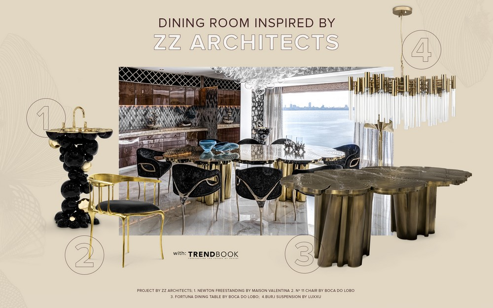 Dining Room Design Inspired by ZZ Architects zz architects Dining Room Design Inspired by ZZ Architects ZZ ARCHITECTS