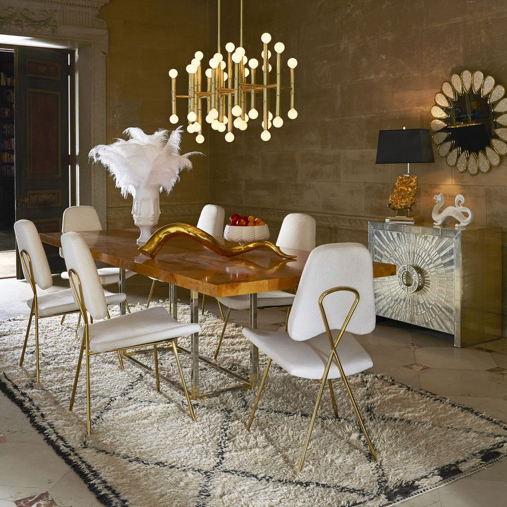 7 Modern Dining Room Ideas by Top Interior Designers modern dining room 7 Modern Dining Room Ideas by Top Interior Designers adler cnadelabra