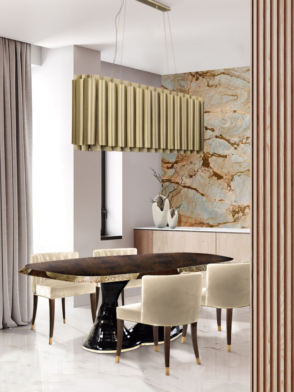 7 Dining Room Chandeliers That Will Spark A Luxury Atmosphere dining room chandeliers 7 Dining Room Chandeliers That Will Spark A Luxury Atmosphere arum