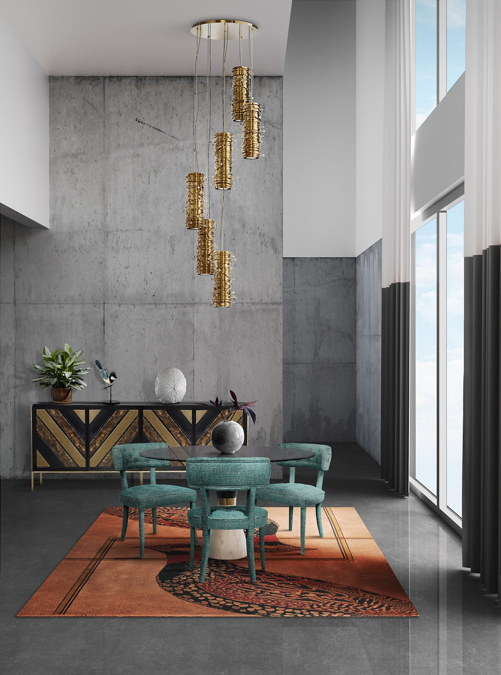 Interior Design Trends To Refine Your Dining Room in 2020 interior design trends Interior Design Trends To Refine Your Dining Room in 2020 ecledctic 2