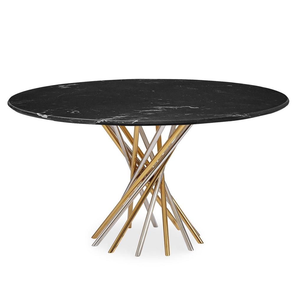 Modern Dining Tables by Jonathan Adler jonathan adler Modern Dining Tables by Jonathan Adler electrum